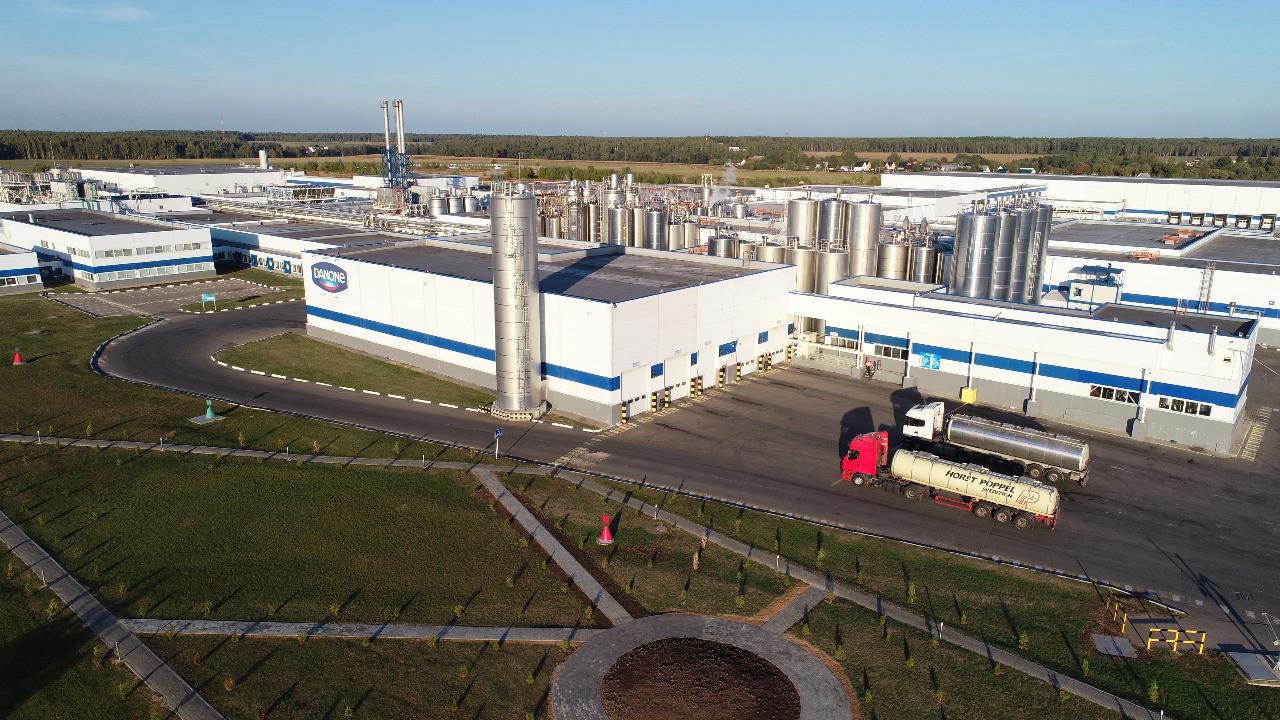 Завод Danone в Чехове отмечает 20-летие
