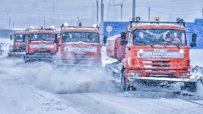 Более 11 тыс. км дорог очистили в Подмосковье за ночь