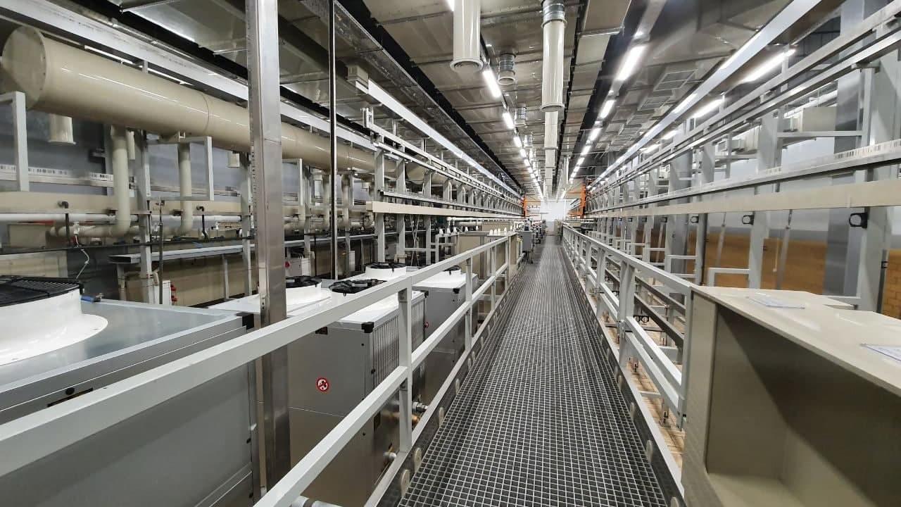 производственный корпус АО «Промтех – Дубна»