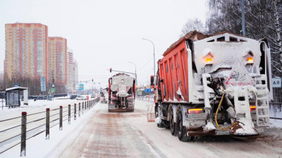 Более 31 тыс. км дорог очистили в Подмосковье за минувшие сутки