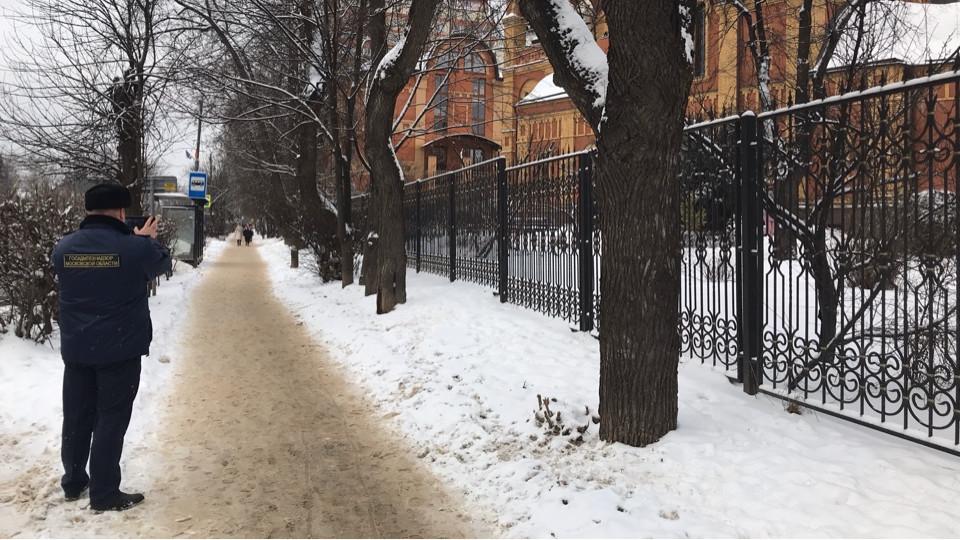 Более 720 территорий очистили от снега после вмешательства Госадмтехнадзора региона
