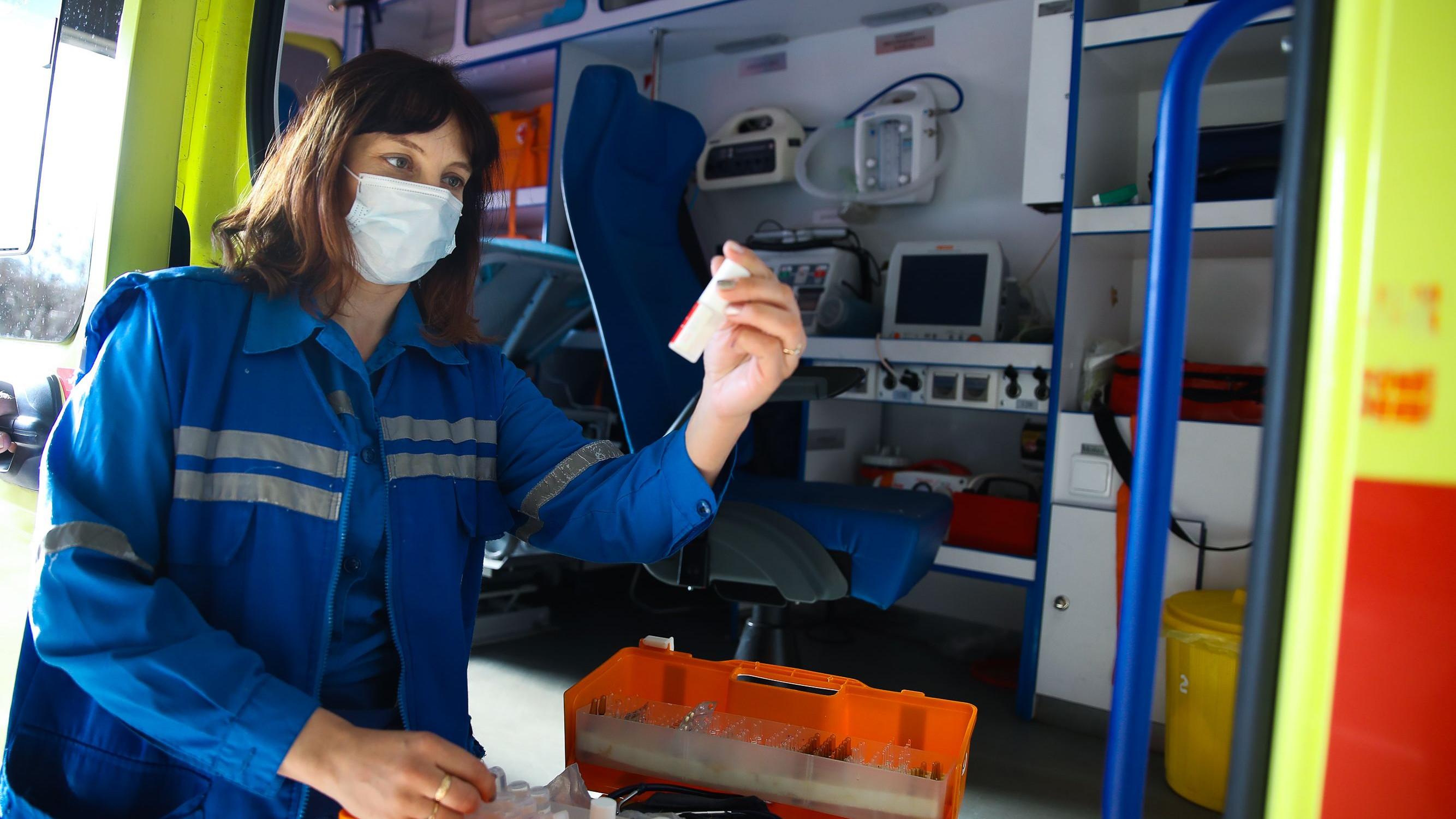 Губернатор проверил работу Одинцовской центральной подстанции скорой медицинской помощи