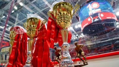 Десятый турнир по хоккею на кубок Юрия Ляпкина завершился в Балашихе