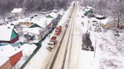 Дорожные и коммунальные службы Подмосковья переведены в режим усиленной работы