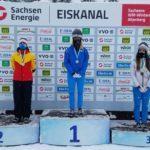 Елена Никитина завоевала золото интерконтинентального кубка по скелетону