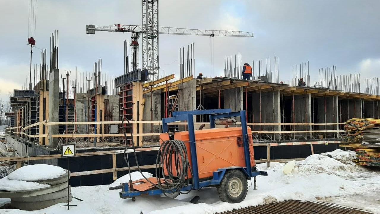 Главгосстройнадзор проверяет строительство жилого дома в Пушкине