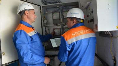 Электросетевые компании Московской области перешли на усиленный режим работы