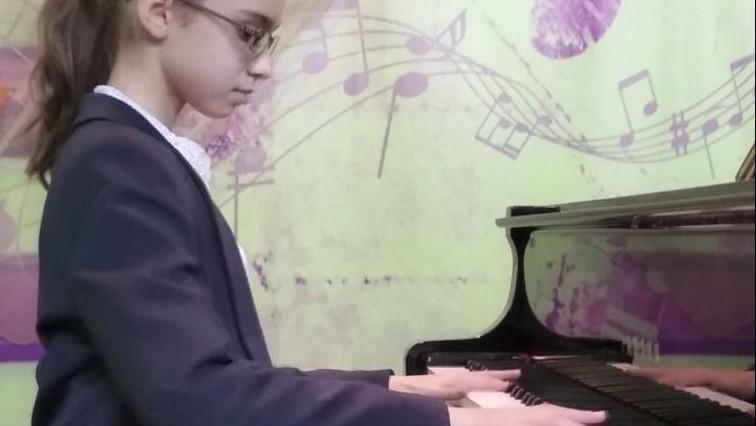 Пианистка Виктория Ригель