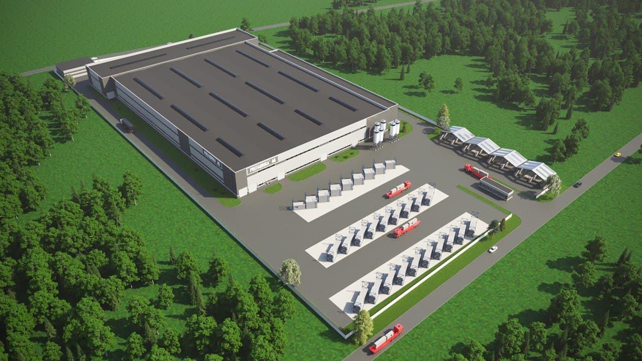 Компания-резидент ОЭЗ «Кашира» по производству изделий из бетона выходит в регионы