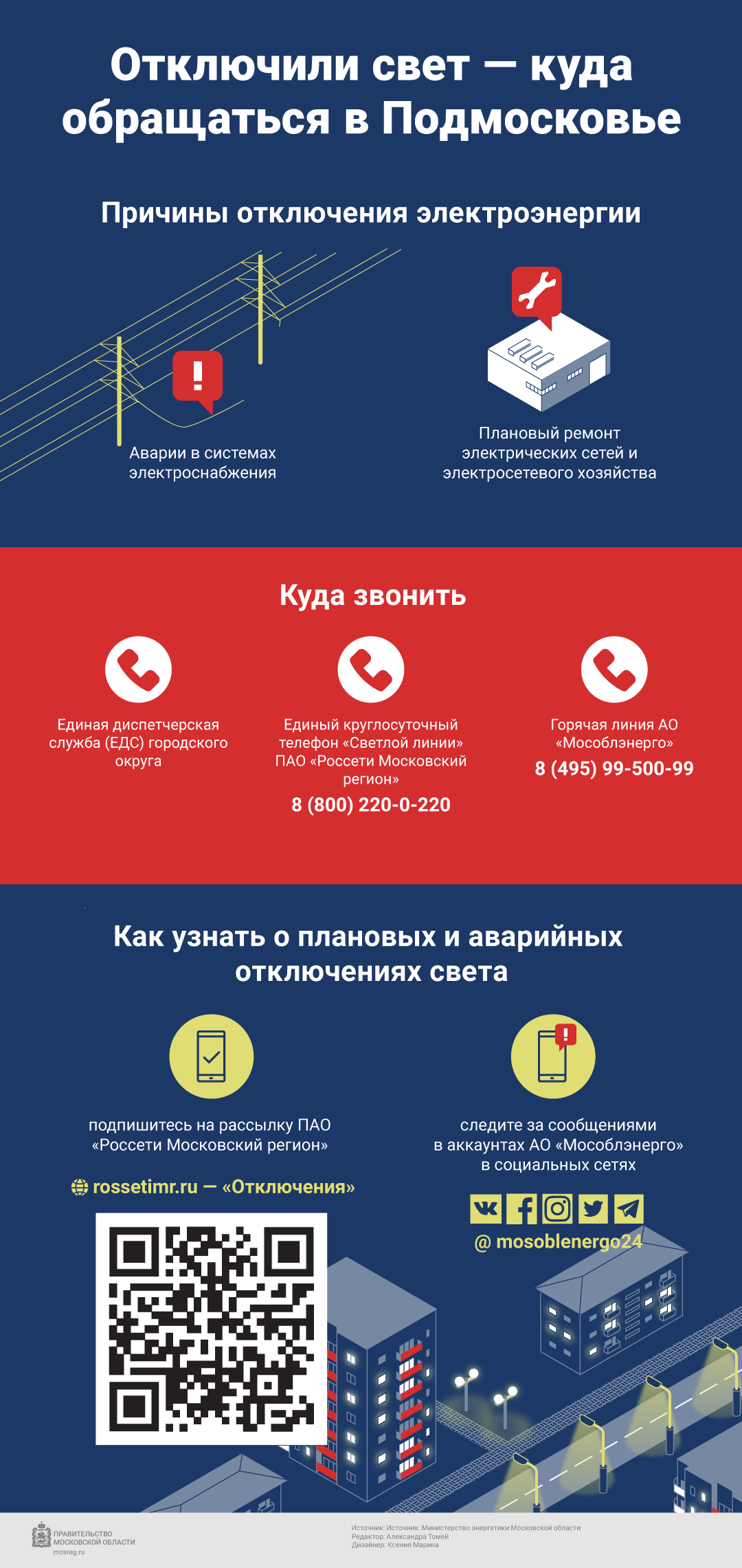 Инфографика электричество