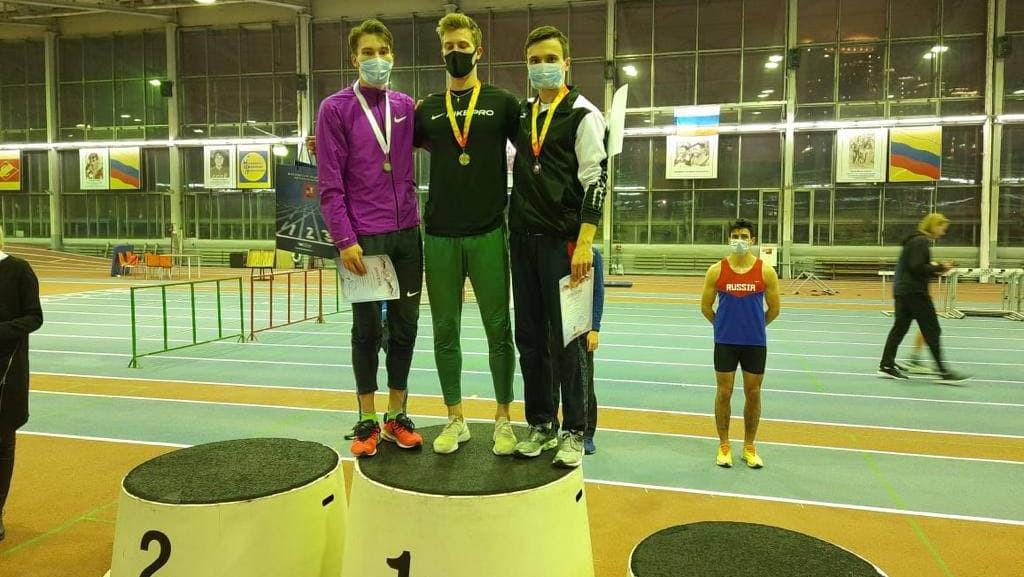 Легкоатлеты из Подмосковья завоевали 5 медалей на «Рождественском кубке»
