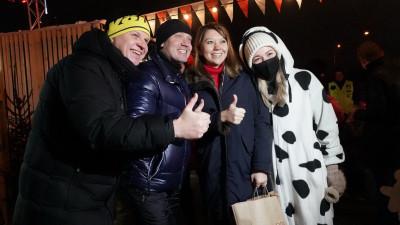 Наталья Виртуозова открыла фестиваль «Мастерская Рождества» в Истре
