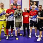 Олег Матыцин и президент AIBA Умар Кремлёв провели совместную тренировку с олимпийскими чемпионами по боксу