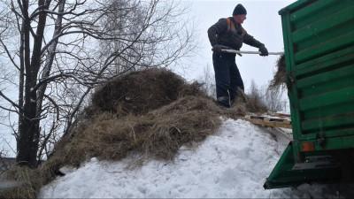 Подготовка к созданию снежных куч и ледников началась в подмосковном «Центрлесхозе»