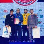 Подмосковные борцы завоевали три медали на чемпионате России по греко-римской борьбе