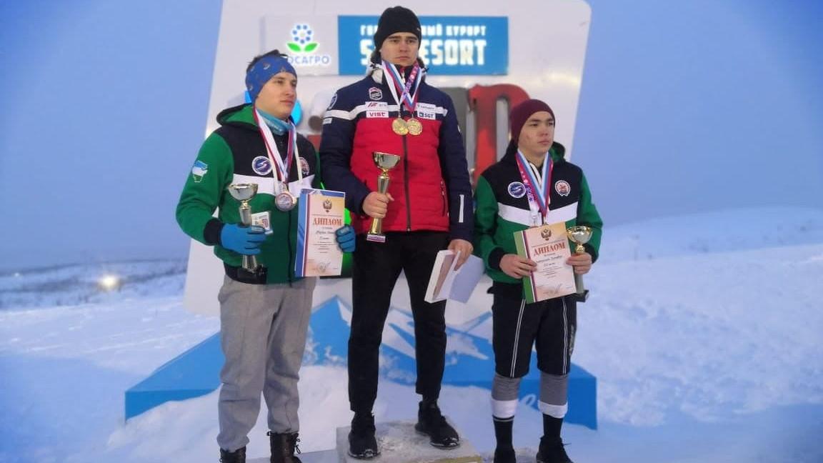 Подмосковный горнолыжник завоевал 4 медали на чемпионате России среди глухих