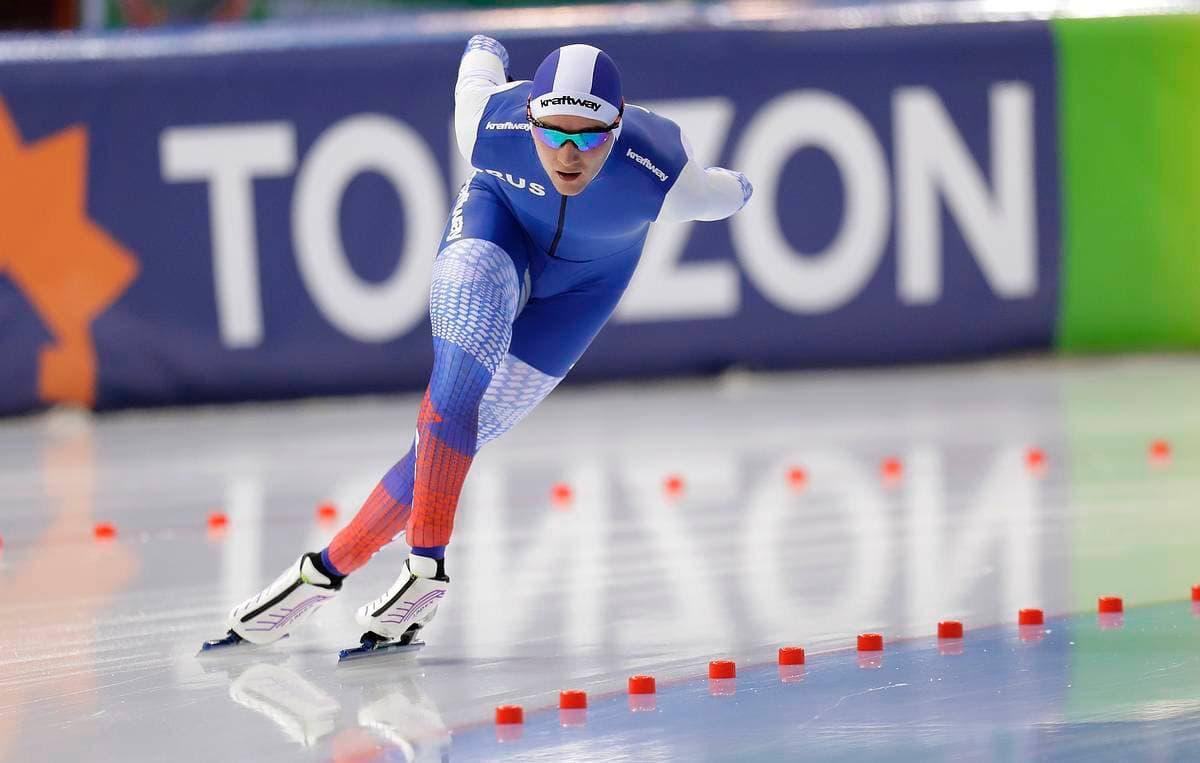 Подмосковный конькобежец завоевал бронзу на этапе Кубка мира