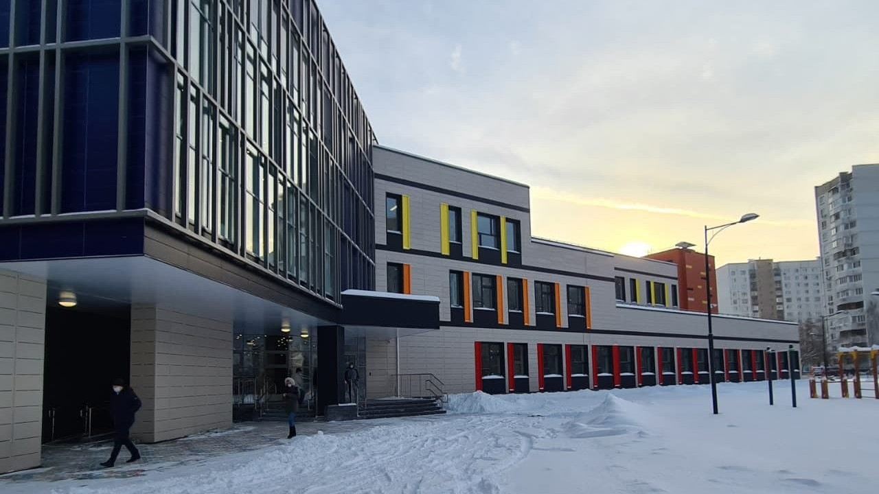 Пристройку к школе в Королеве планируют достроить до начала весны