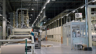 Производство декоративной пленки запустили в Чехове
