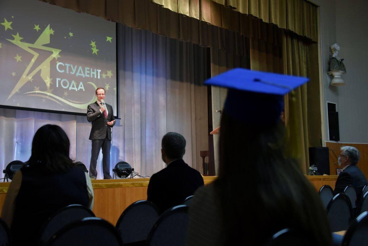 Роман Терюшков поздравил с Днём российского студенчества