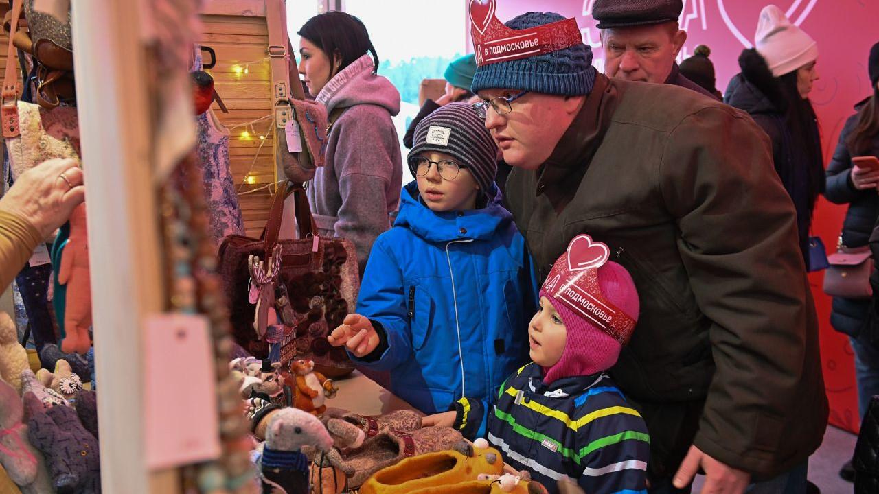 Открытие фестиваля «Сказочное рождество» в Новом Иерусалиме
