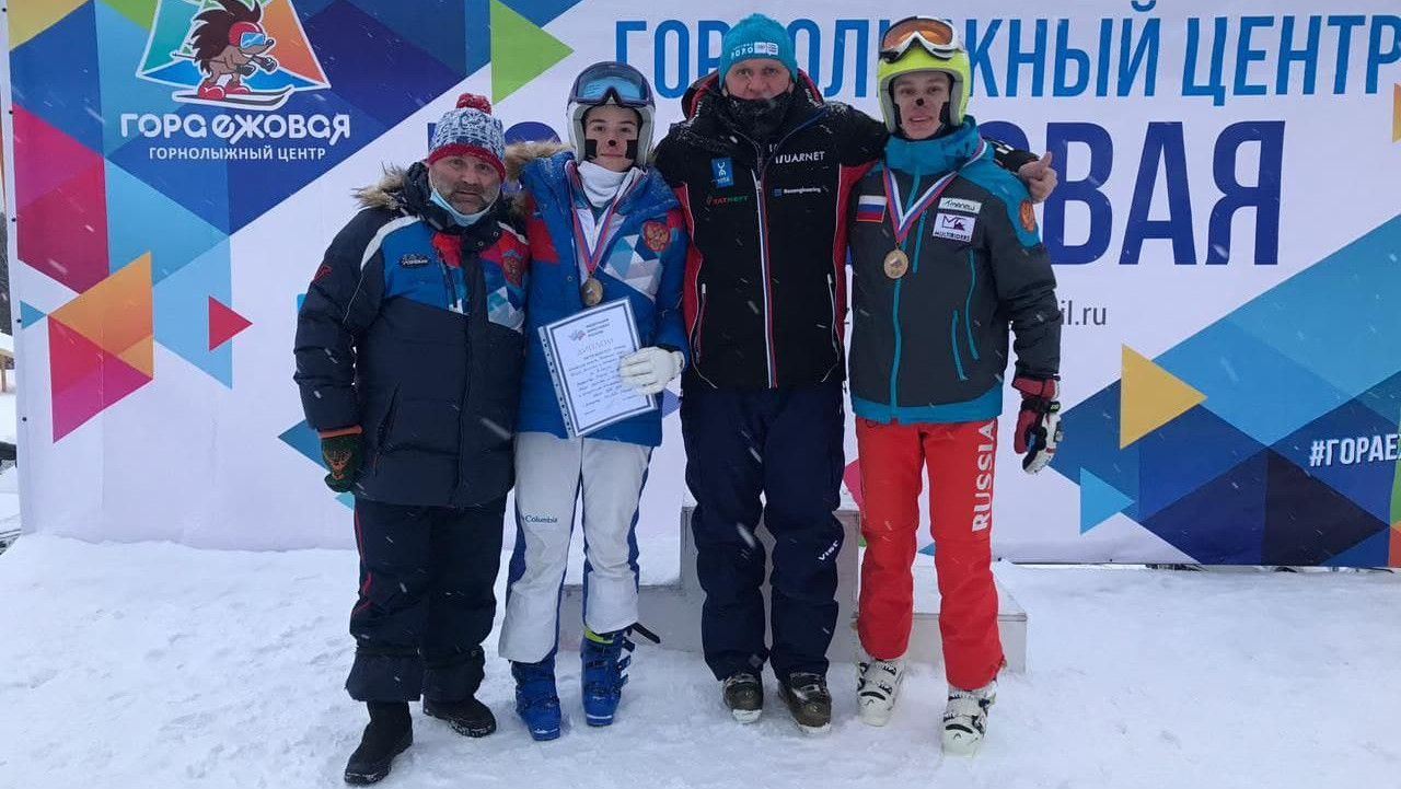 Сборная Подмосковья завоевала бронзу на первенстве России по фристайлу