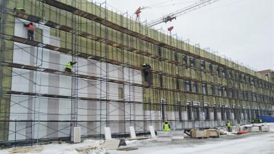 Школу на 550 мест достроят в Электрогорске к 1 сентября
