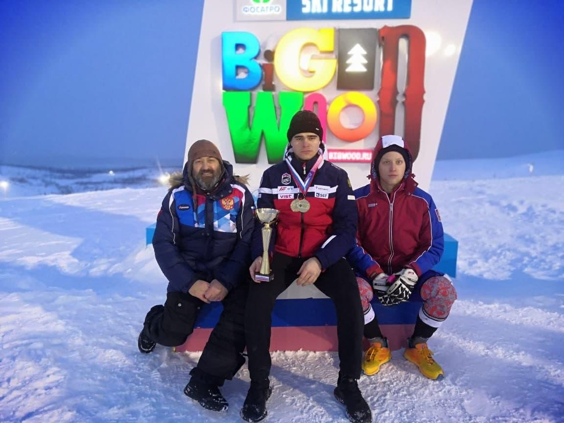 Спортсмен из Подмосковья стал обладателем 4 медалей на чемпионате России по горнолыжному спорту сред...
