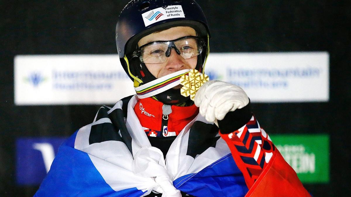 Спортсмены из Подмосковья завоевали 6 медалей Кубка мира по фристайлу