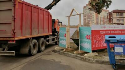 Свыше 15 тыс. елок отправили на переработку в Подмосковье
