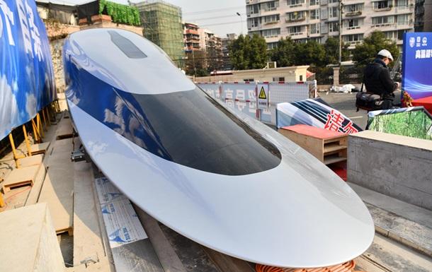 В Китае испытали поезд на магнитной подушке