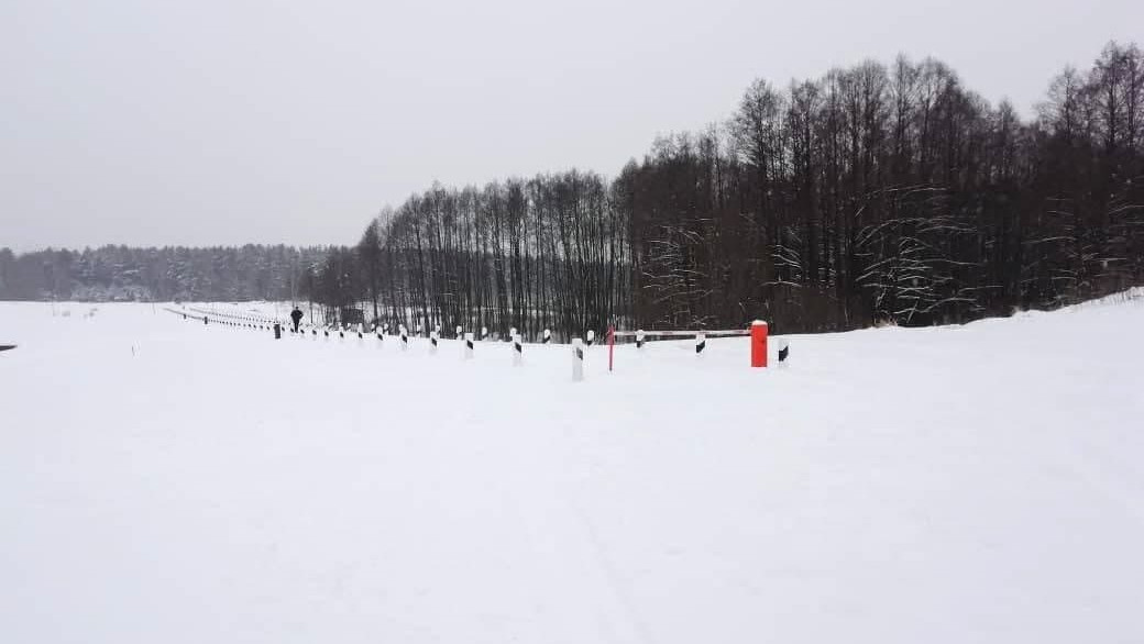Плотина в Егорьевске