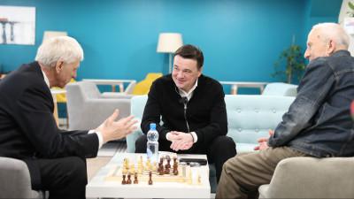 Андрей Воробьев открыл клуб «Активное долголетие» в городском округе Химки