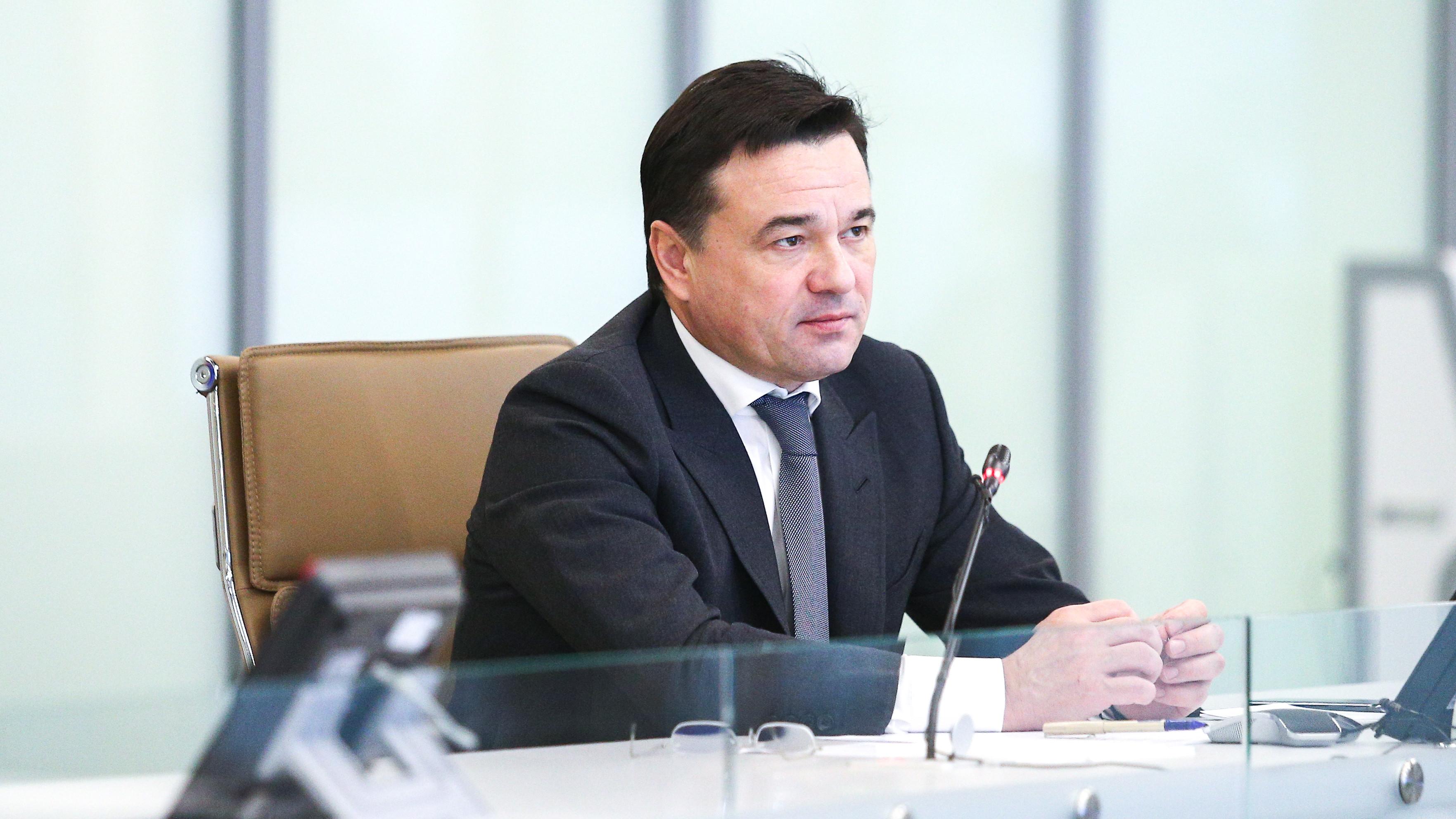 Андрей Воробьев вошел в топ‑3 медиарейтинга глав регионов РФ за январь