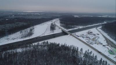 Более 110 тыс. автомобилей проехало по новой развязке в Одинцовском округе