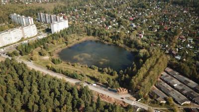 Воробьев проверил ход работ по благоустройству общественных пространств в Звездном городке
