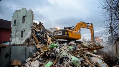 Более 60 объектов самовольного строительства выявили в Подмосковье за месяц