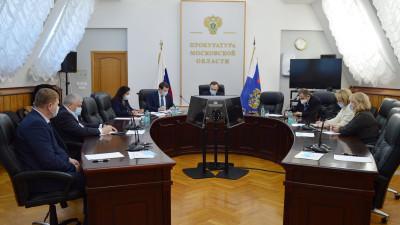 Дополнительные меры поддержки бизнеса обсудили в подмосковной прокуратуре