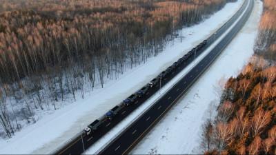 Дороги Подмосковья справились с перераспределением грузовиков с МКАД