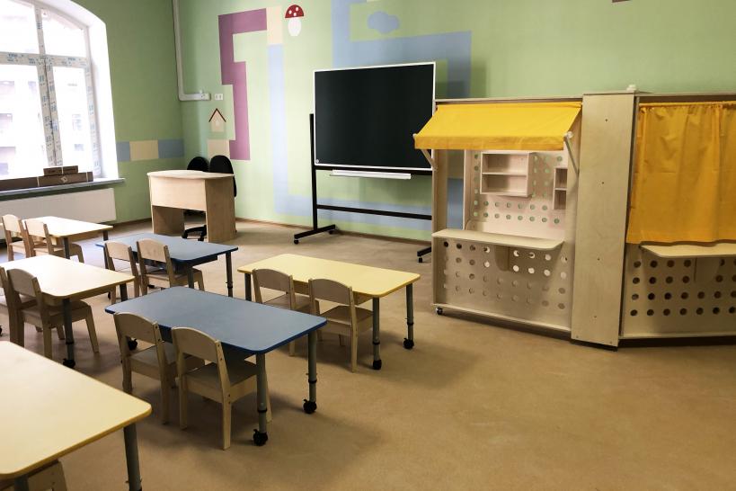 Жилой дом со встроенно-пристроенным детским садом в Химках