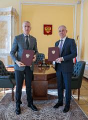 Минспорт России и Ульяновская область подписали Соглашение о сотрудничестве в области физической культуры и спорта