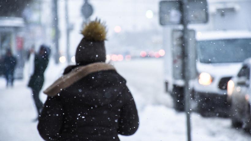 18 января 2018 года, Обильный снегопад в Москве и Московской области.