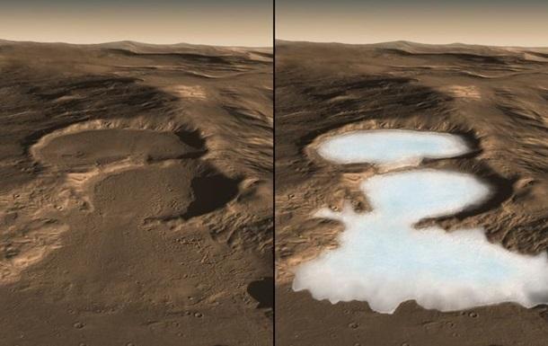 На Марсе обнаружили значительные ресурсы льда: опубликована карта