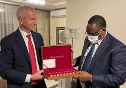 Олег Матыцин встретился с Президентом Республики Сенегал Маки Саллом
