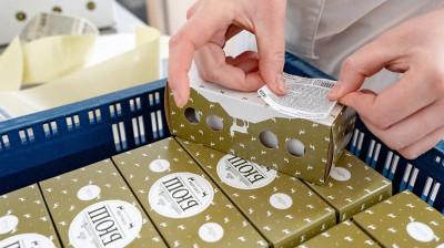 Первые 500 кг сыра подмосковного производителя «Рота-Агро» поступили в продажу