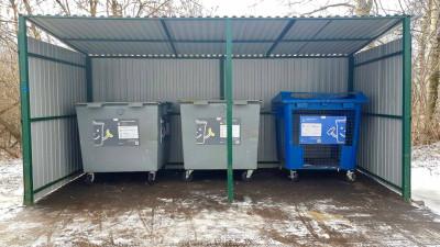Подъездные пути к 162 контейнерным площадкам расчистили в Подмосковье