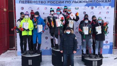 Подмосковные юниоры завоевали золотые и серебряные медали соревнований по лыжным гонкам