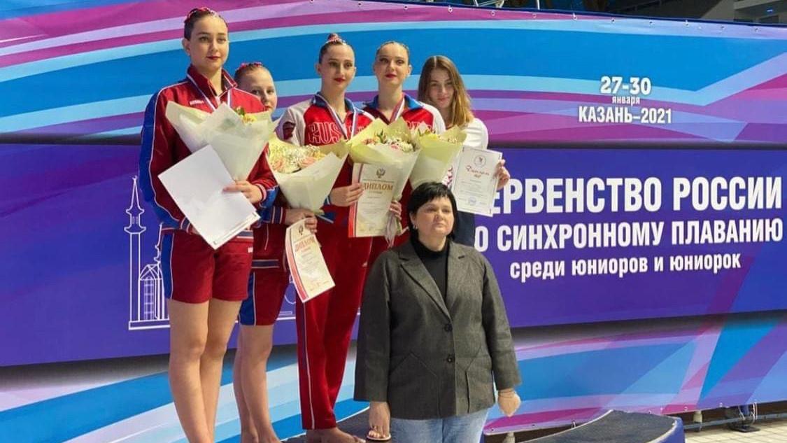Подмосковные спортсмены завоевали медали на первенстве России по синхронному плаванию