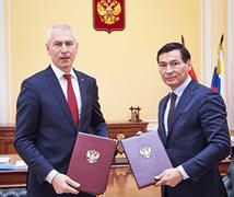 Подписано Соглашение между Минспортом России и Калмыкией о сотрудничестве и взаимодействии в области физической культуры и спорта