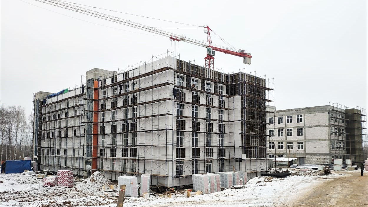 Строительство школы в Наро-Фоминске